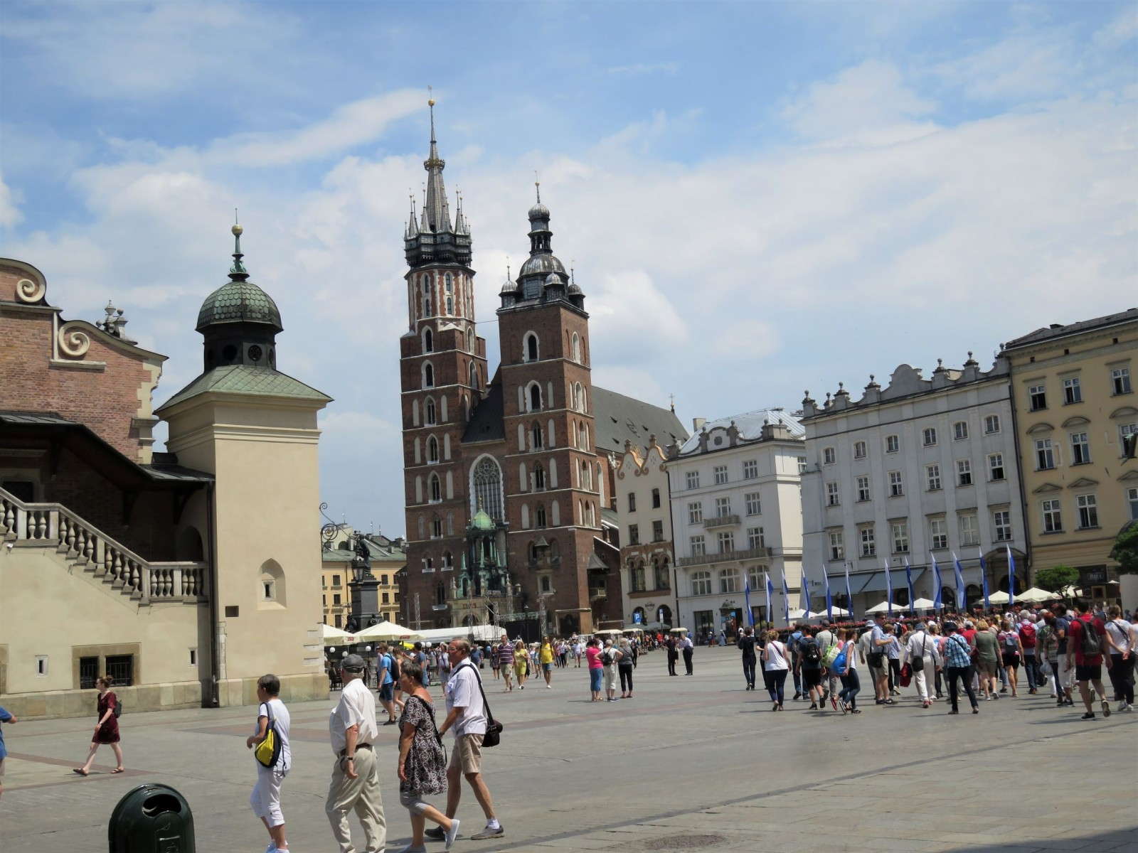 Cracovie : la place du Marché