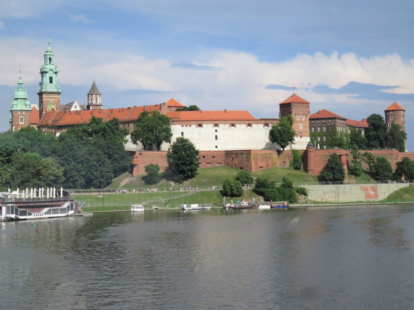 Cracovie : la colline du Wawell et le château royal